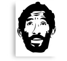 Lee Scratch Perry Reggae Stencil Canvas Print