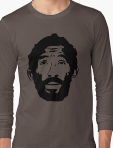 Lee Scratch Perry Reggae Stencil Long Sleeve T-Shirt