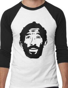 Lee Scratch Perry Reggae Stencil Men's Baseball ¾ T-Shirt