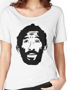 Lee Scratch Perry Reggae Stencil Women's Relaxed Fit T-Shirt