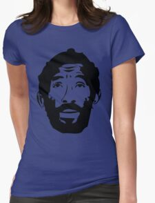 Lee Scratch Perry Reggae Stencil Womens Fitted T-Shirt