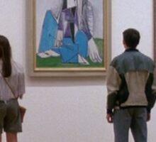 Ferris Bueller- Art Museum Sticker