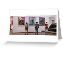 Ferris Bueller- Art Museum Greeting Card