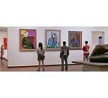 Ferris Bueller- Art Museum Photographic Print