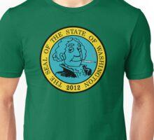 Washington Marijuana Cannabis Weed Unisex T-Shirt