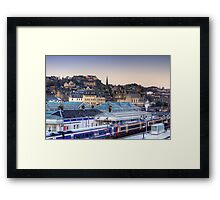 Stirling Rooftops Framed Print