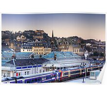 Stirling Rooftops Poster
