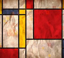Mondrian Inspired by ArtPrints