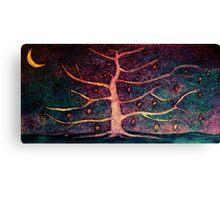 Multi-coloured sky Canvas Print