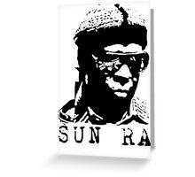Sun Ra Stencil T-Shirt Greeting Card