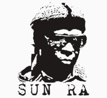 Sun Ra Stencil T-Shirt by greenrasta