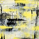 Urban Abstract Painting by Christina Rollo