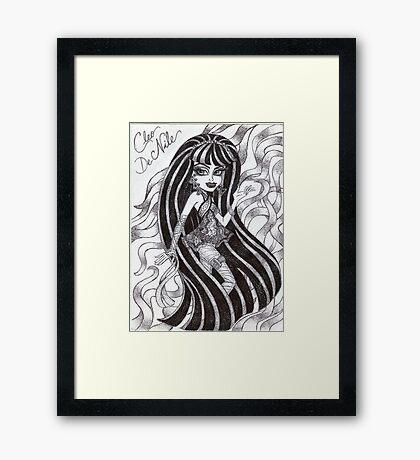 Iconic Cleo De Nile Framed Print