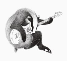 Bassist Badger One Piece - Long Sleeve