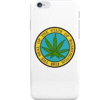 Washington Marijuana Cannabis Weed iPhone Case/Skin