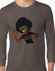 Vote For Miles Davis Jazz Long Sleeve T-Shirt