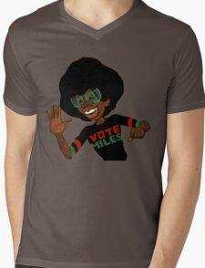 Vote For Miles Davis Jazz Mens V-Neck T-Shirt