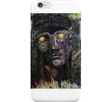 Glitch Golden Collage iPhone Case/Skin