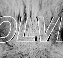 Kanye West - Wolves Sticker