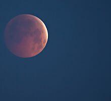Lunar Eclipse - Winter Solstice, 21st December 2010 by David Lewins