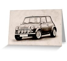 Mini Copper Sketch Greeting Card