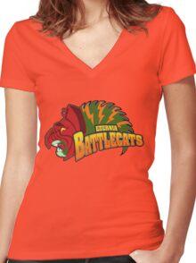 Eternia Battlecats Women's Fitted V-Neck T-Shirt
