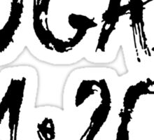 """Bogart 4:20"" Marijuana Sticker"