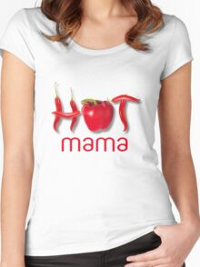Hot Chili MAMA Women's Fitted Scoop T-Shirt