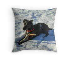 A Great Result.. Throw Pillow
