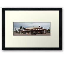 The Prairie Hotel, Parachilna Framed Print