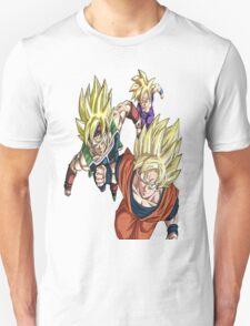 Dragon Ball Z: Family of sayen T-Shirt