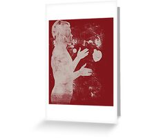 the juggler - catch it if you can Greeting Card