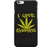 I Love Cannabis iPhone Case/Skin