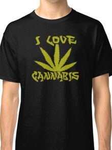 I Love Cannabis Classic T-Shirt