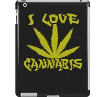 I Love Cannabis iPad Case/Skin