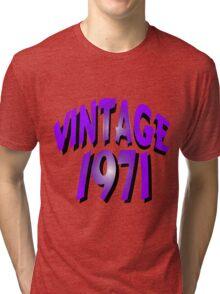 Vintage 1971 Tri-blend T-Shirt