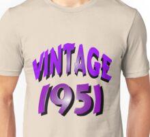 Vintage 1951 Unisex T-Shirt