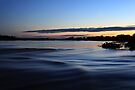 River Dawn ~ Greenough River by Pene Stevens