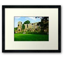 Jervaulx Abbey Framed Print