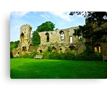 Jervaulx Abbey Canvas Print