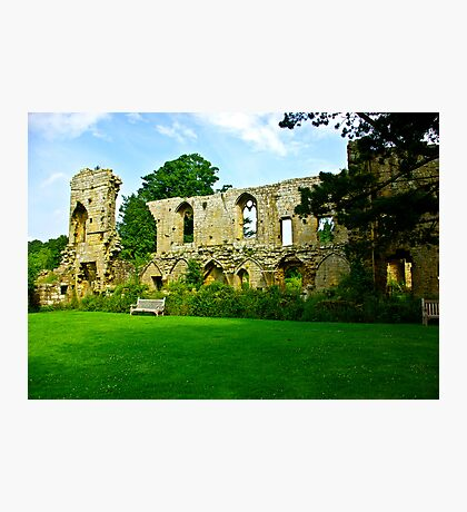 Jervaulx Abbey Photographic Print