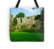Jervaulx Abbey Tote Bag