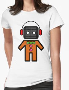Gingerbread Womens Fitted T-Shirt
