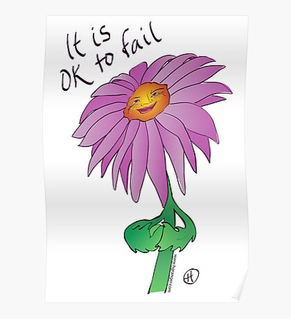 It Is OK to Fail Poster