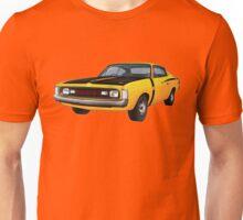 Chrysler Valiant VH Charger - Yellow Unisex T-Shirt