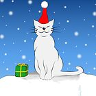 X-Mas Cat (Biestlein) by CarolinaMatthes