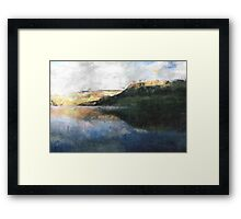 View Across the Reservoir Framed Print
