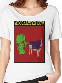 Apocalypse cow backfire Women's Relaxed Fit T-Shirt