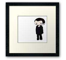 9th Doctor Chibi Framed Print