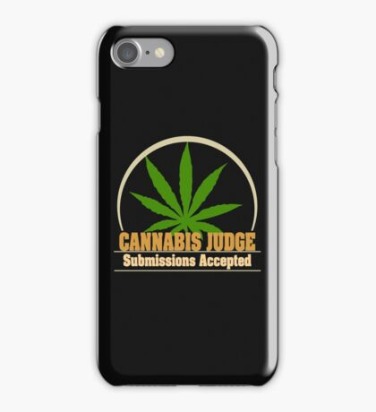 Funny Cannabis iPhone Case/Skin